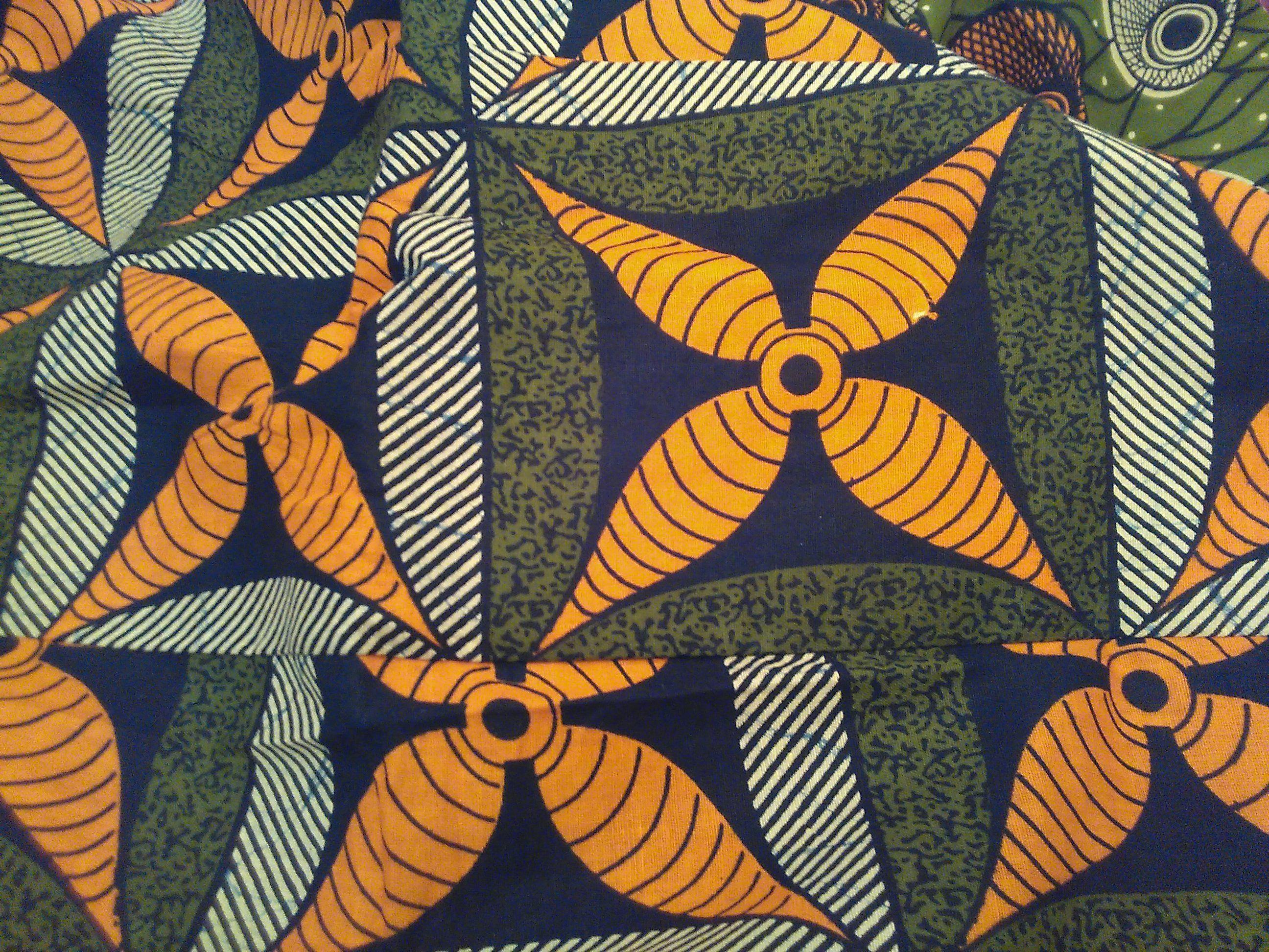 Pagne wax de Senegal